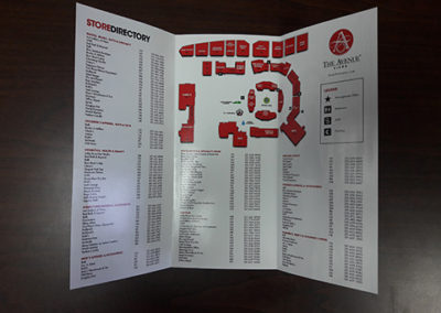 Avenue Directory Trifold