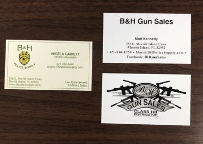 B&H Business Cards