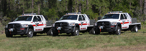 Brevard County Brush Truck Striping