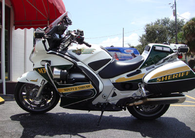 Brevard County Sheriff Bike Striping