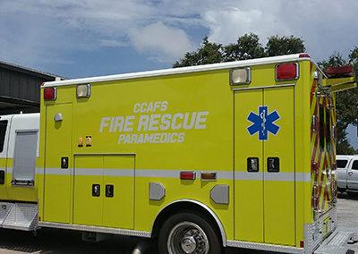 CCAFS Fire Rescue Graphics