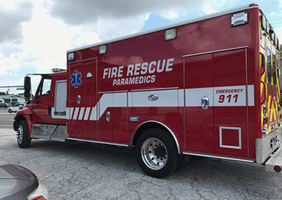 Cape Canaveral Air Force CCAFS Station Fire Graphics