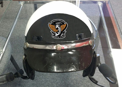 City of Cocoa Police Helmet Graphics