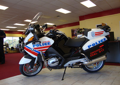 Cocoa Police Bike 1st Generation Striping