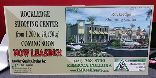JM Real Estate PVC Sign