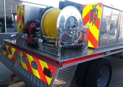 Merritt Island Volunteer Fire Rescue Chevron Stripes