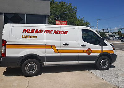 Palm Bay Fire Rescue Van