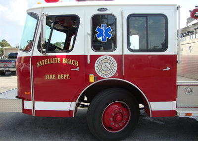 Satellite Beach Fire Department Graphic