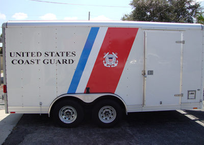 United States Coast Guard Trailer Graphics