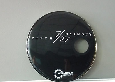 5th Harmony Drumhead Graphics