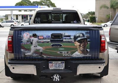 Baseball Tailgate Wrap