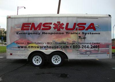 EMS USA Trailer Wrap