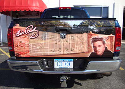Elvis Tailgate Wrap