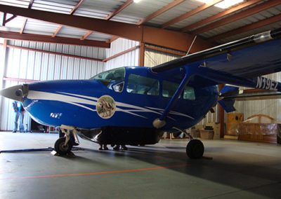 Extreme Home Makeover Airplane Wrap