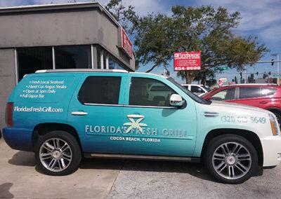 Florida Fresh Grill Wrap
