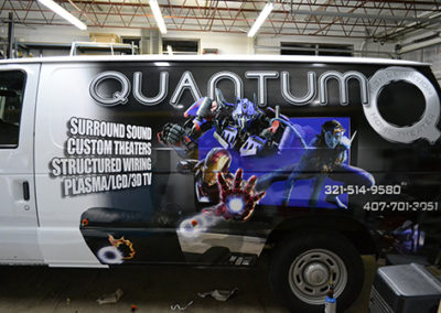 Quantum Van Wrap