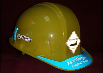 Reflective Hard Hat Graphics