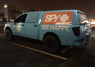 SPY Optic Truck Wrap