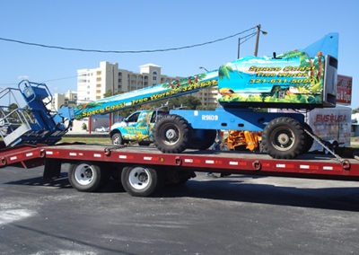 Space Coast Tree Works Bucket Lift Wrap