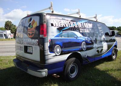 Weaver's Detailing Van Wrap