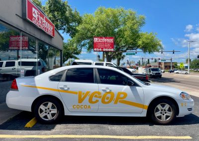 cocoa police VOP car decals